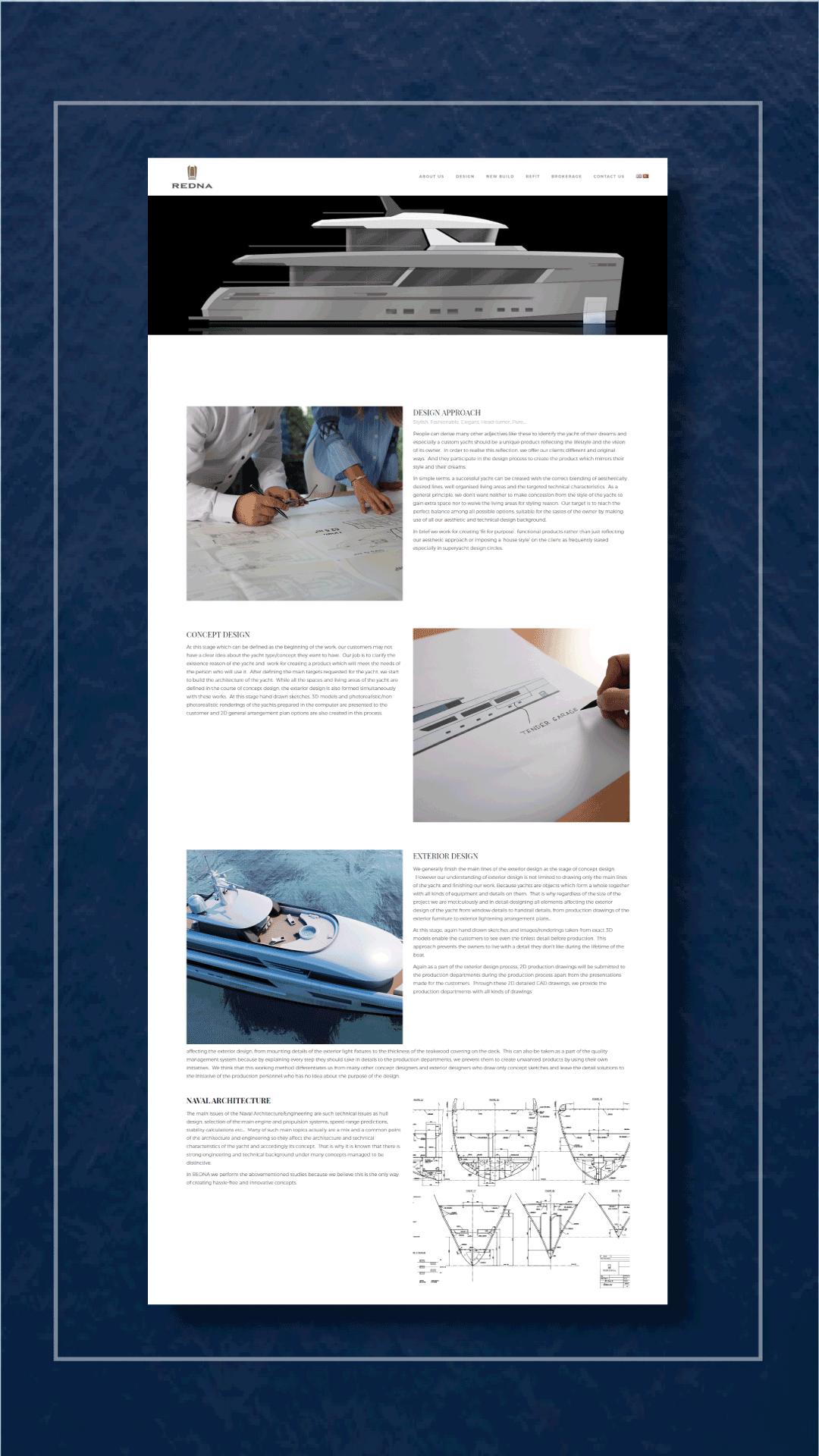 Ceren Varol - Redna Yachts