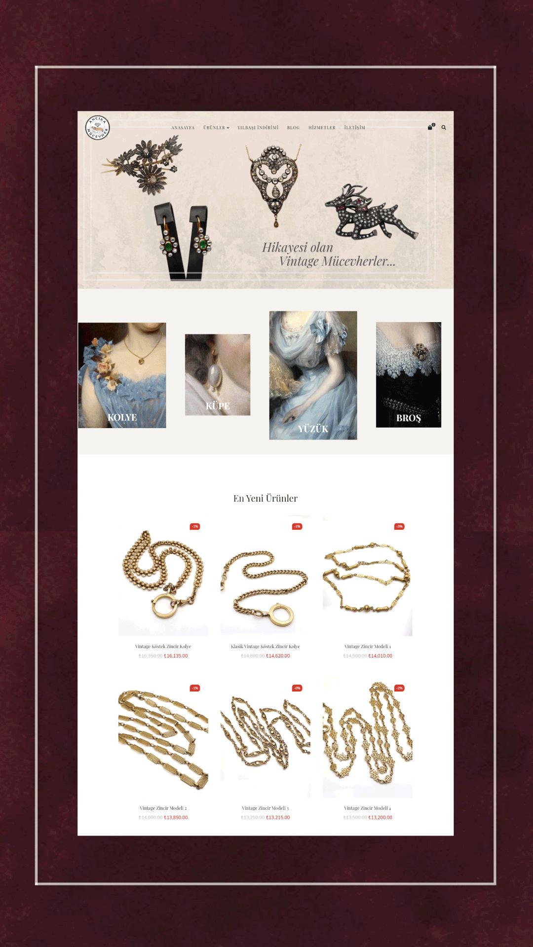 Ceren Varol - Antika Mücevher
