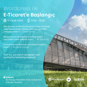iyzico Ev Sahipliğinde WordPress ile E-Ticaret'e Başlangıç
