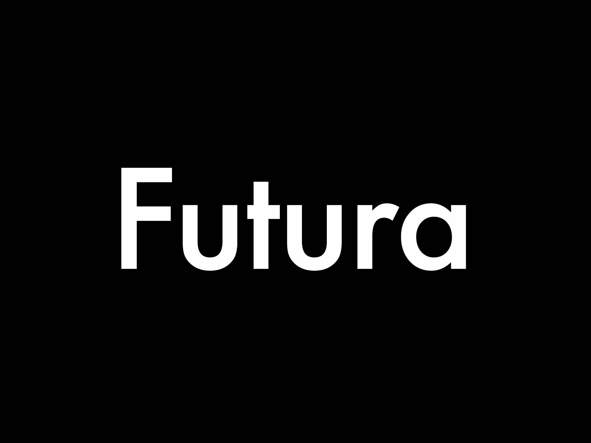 Futura Sans Serif Font