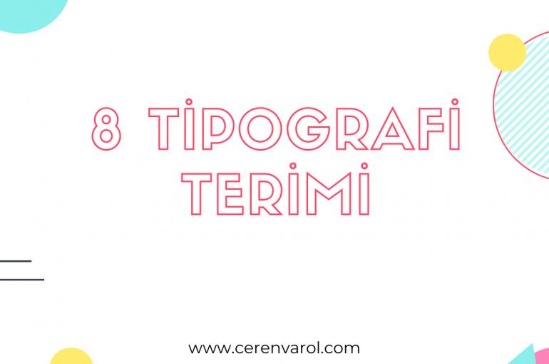 8 Tipografi Terimi