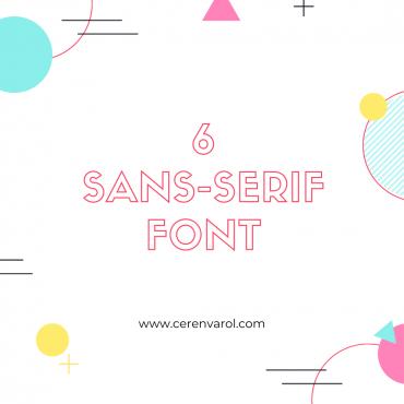 Tasarımlarınızda Kullanmak için 6 Serif Font
