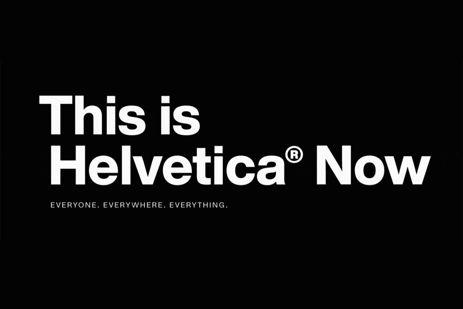 Helvetica Now Sans Serif Font